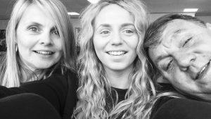 Jess & parents