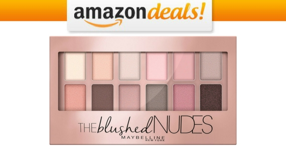 62% Off Maybelline Blushed Nudes Eyeshadow Palette