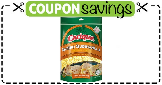 Save $1 Off Cacique Mexican-Style Shredded Cheese