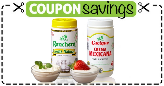 Save $1 Off Cacique or Ranchero Brand Crema or Cheese