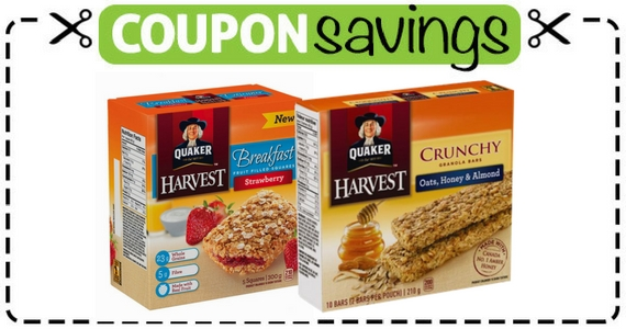 Save 50¢ Off Quaker Bars Or Breakfast Squares