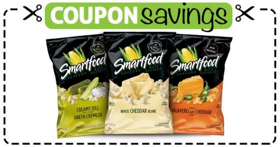 Save 50¢ Off Smartfood Indulgence at Circle K