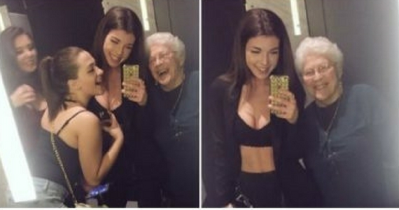 This Selfless Group Selfie Will Warm Your Heart
