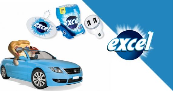 Win 1 of 3 Excel Gum Car Accessories