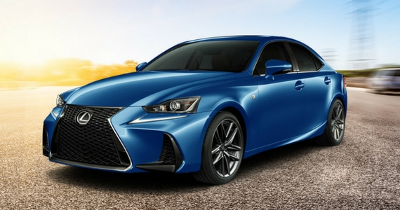 Win a 2017 Lexus IS 300