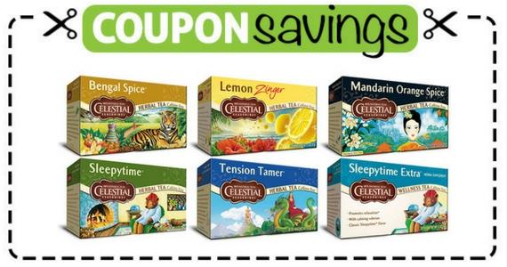 Save $1 on Celestial Seasonings Tea