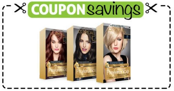 Save $3 Off L'Oreal Paris Superior Preference Haircolour