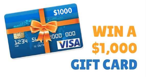 Win a $1,000 Prepaid Gift Card from Oh! Naturals