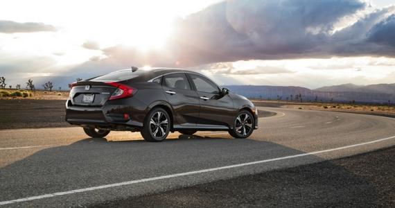 Win a 2017 Honda Civic Sedan