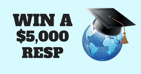 Win a $5,000 RESP Prize