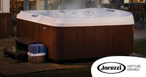 Win a $9,000 Genuine Jacuzzi Hot Tub
