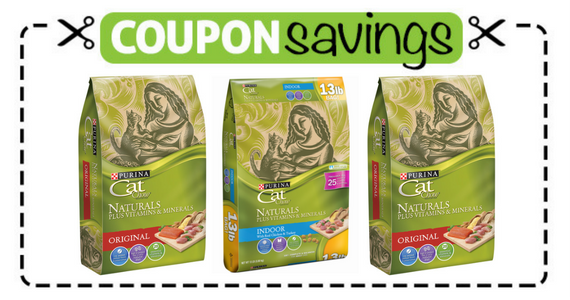 Save $2 off Purina Cat Chow Naturals