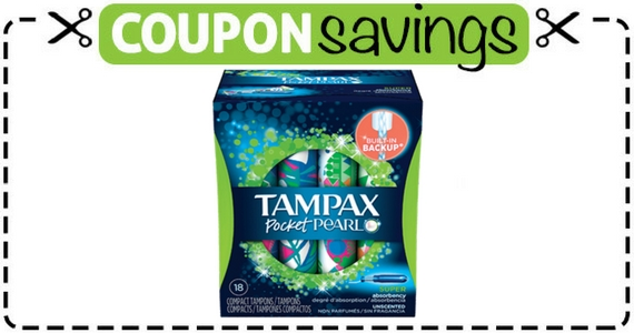 Save $1 Off Tampax Pocket Pearl