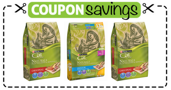 Save $2 off any Purina Cat Chow Naturals Product