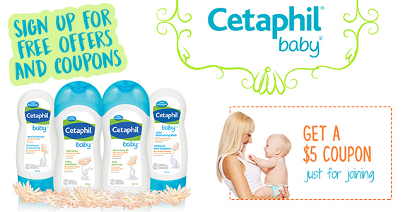 Join Cetaphil Parents Club For Coupons & Freebies