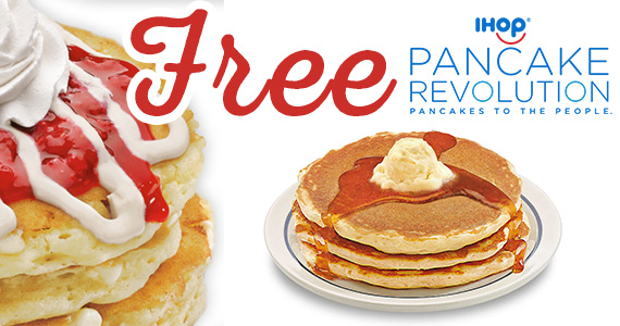 Free Pancakes From IHOP