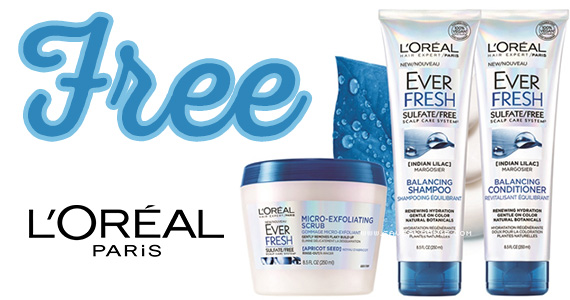 Free Sample of L'Oreal Ever Fresh