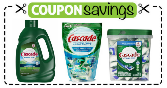 Save $1 on Cascade