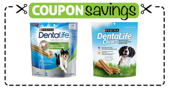 Save $2 on Purina DentaLife or DentaLife Chews