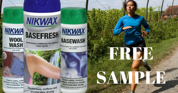 Free Sample of Nikwax BaseWash