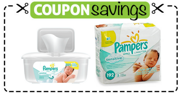Save $2 on Pampers Pack of Wipes