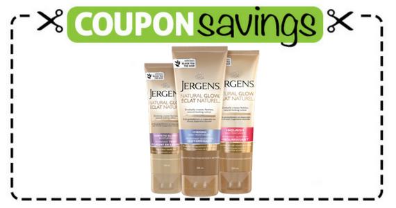 Save $2 on JERGENS Natural Glow Moisturizer