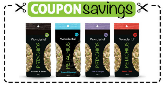 Save 50¢ on Wonderful Pistachios