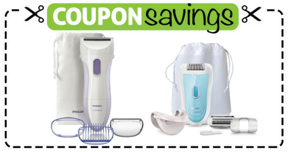 Save $10 on Philips Epilator or Lady Shave