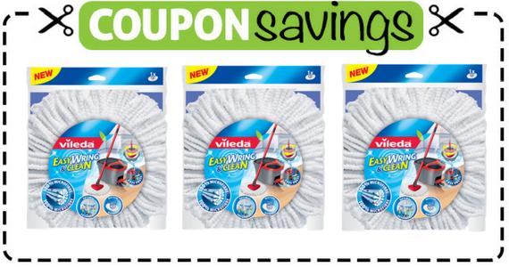 Save $2 on a Vileda EasyWring Refill