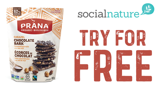 Social Nature – Free Prana Chocolate Bark