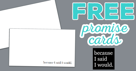 10 Free Promise Cards