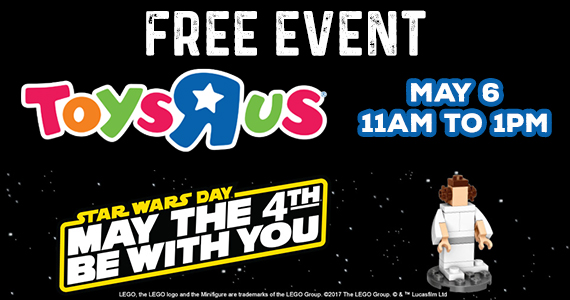 Star Wars Day Event at Toys R Us