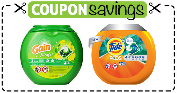 Save $2 on Tide Pods or Gain Flings
