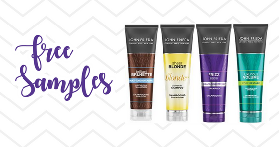 Free Samples From John Frieda