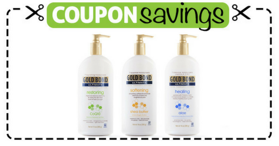 Save $3 off Gold Bond Ultimate Skin Therapy Lotion