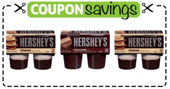 Save 50¢ on Hershey's Pudding