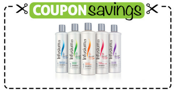Save $1 on Infusium Hair Care