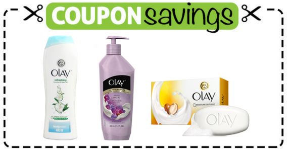 Save 75¢ on OLAY Bar, Body Wash or Lotion