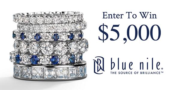 Win a $5,000 Blue Nile Shopping Spree