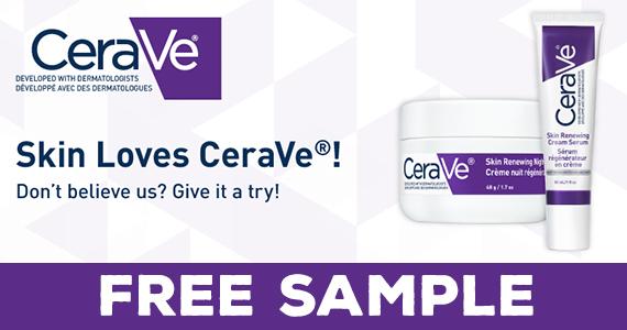 Free CeraVe Sample Pack