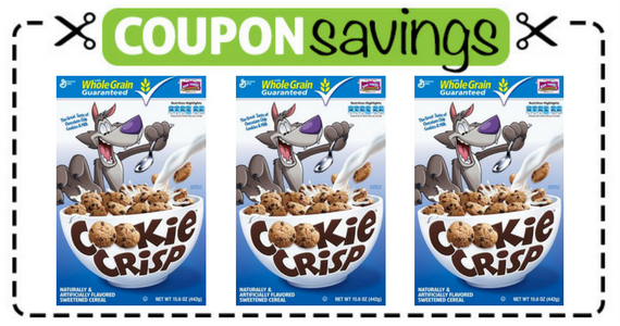 Free Cookie Crisp Cereal Coupon from General Mills