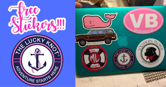 Free Stickers From The Lucky Knot