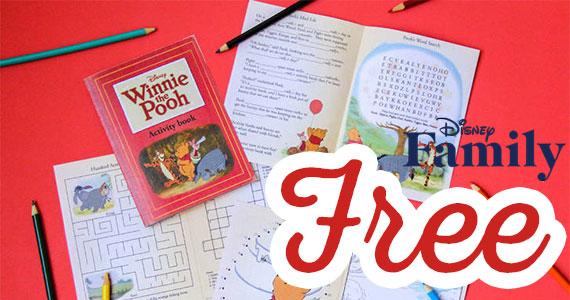 Free Printable Winnie The Pooh Activity Book
