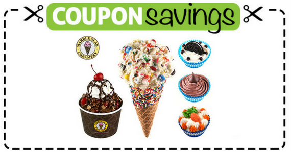 June Marble Slab Creamery Coupons