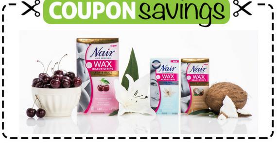 Save $2 off any New Nair Wax Product