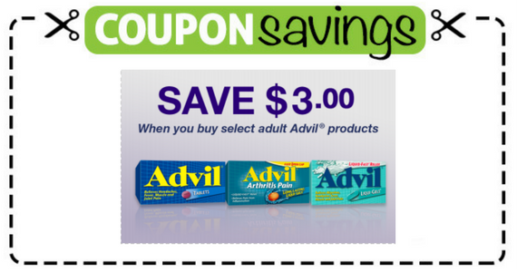 Save $3 on Advil