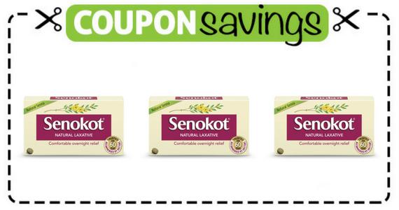 Save $1 off Senokot Laxative Tablets