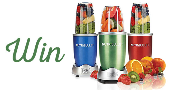 Win a Magic Bullet NutriBullet Blender