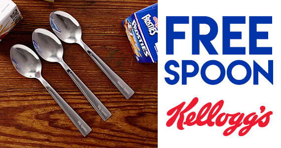 Free Personalized Kellogg Spoon