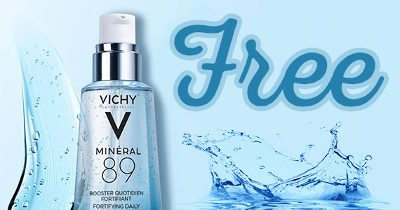 Free Sample of Vichy Mineral 89